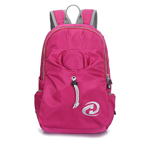 Top Shop Womens Canvas Smilies Expression Backpack Travel Daypack Tote School Shoulder Pink Bags