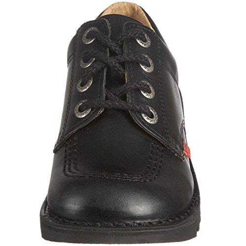 Kick cordones Low negro Zapatos Kisses de COqxwdqH