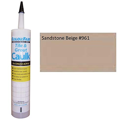 - TEC Color Matched Caulk by Colorfast (Unsanded) (961 Sandstone Beige)