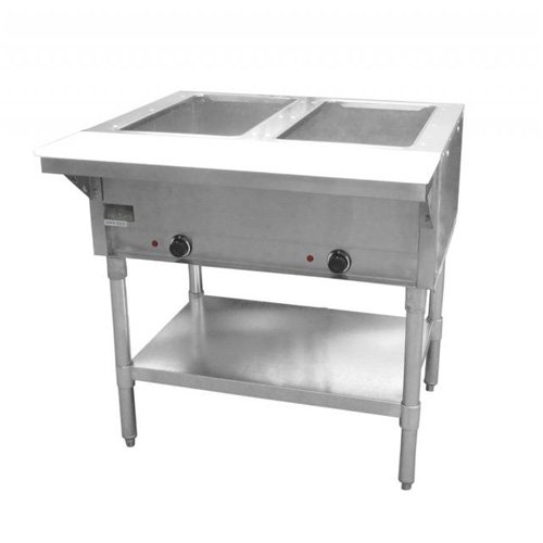 Value Series ST-120/2 Electric Steam Table, 2 - Table 2 Wells Steam Electric