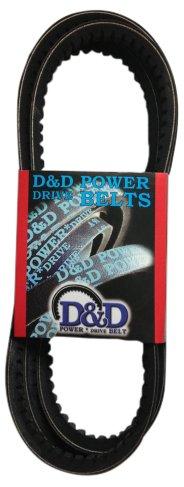 38.57 Length Rubber D/&D PowerDrive MF1380 Mitsubishi Motors Replacement Belt 1 -Band 15
