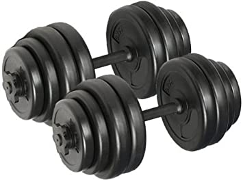 amazon body revolution 30kg dumbbell set with free workout wall