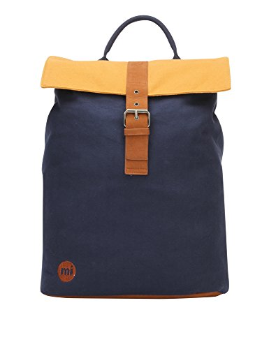 Mi-Pac Women's Day Pack Tonal Canvas Women's Blue Backpack by Mi-Pac