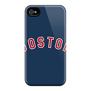 New Baseball Boston Red Sox 3 Cases Covers, Anti-scratch KbI19062pTae Phone Cases For Iphone 4/4s