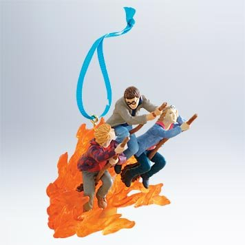 2011 Hallmark Ornament Harry Potter Fleeing The Fiendfyre - QXI2427