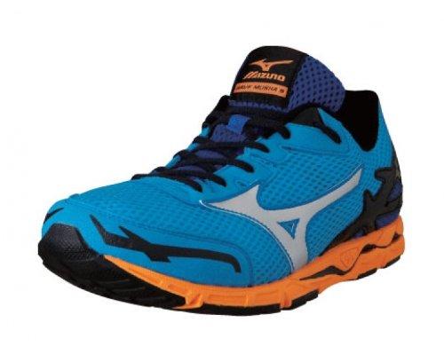 47f667c9c394 Mizuno Wave Musha 5 Racing Shoes - 7.5 Blue: Amazon.co.uk: Shoes & Bags