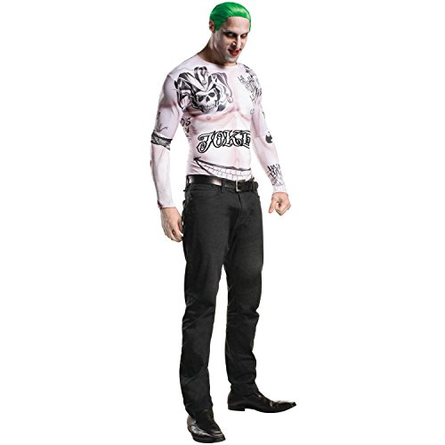 Joker Tattoo Reviews - Suicide Squad Joker Halloween Costume Teen