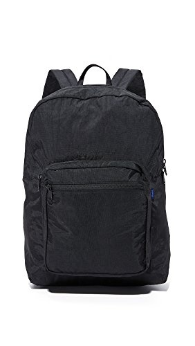 BAGGU School Backpack, Sturdy and Stylish for Everyday Toting, Black