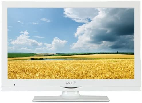Sunstech 24LEDTALUSWWT - Televisor, pantalla LED, 24 pulgadas, Full HD, TDT, USB, entrada CI, HDMI, color blanco: Amazon.es: Electrónica