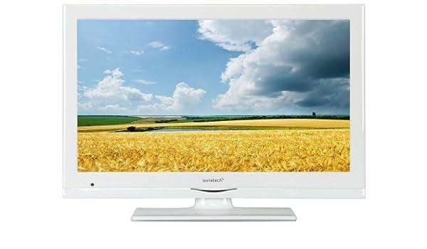 Sunstech 24LEDTALUSWWT - Televisor, pantalla LED, 24 pulgadas, Full HD, TDT, USB, entrada CI, HDMI, color blanco: Amazon.es: Electrónica