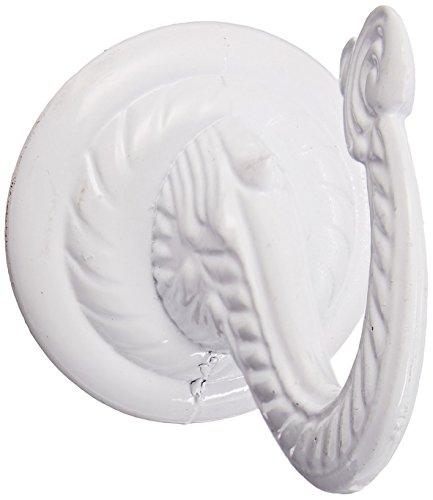 Hang Ceiling Hook - Panacea 86122 Jumbo Ceiling Hook, White