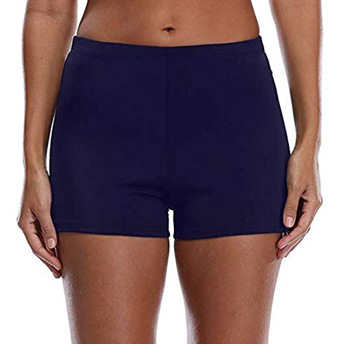 - Women's Boy Shorts High Waist Swim Shorts Boardshorts Beach Bikini Tankini Swimwear Boy Leg Bottoms ...
