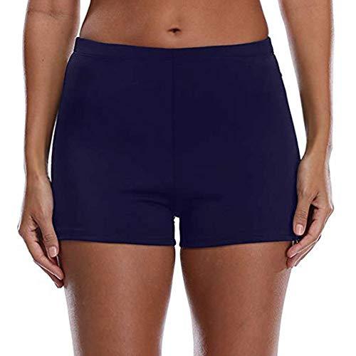 Women's Boy Shorts High Waist Swim Shorts Boardshorts Beach Bikini Tankini Swimwear Boy Leg Bottoms ... ()