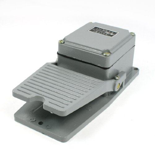 UXcell AC 380V 5 Amp Nonslip Momentary Industrial Treadle...