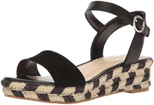 Nine West Women's Allium Leather Espadrille Sandal