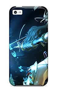 For Iphone 5c Fashion Design The Elf Warrior Case-SVWhCMr4218ntKMS