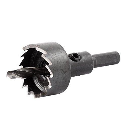 Triangle Shank 5mm Twist Drill Bit 25mm Dia HSS Iron Pagputol Hole Saw -