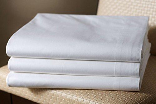 Bettlaken glatt weiß in verschiedenen Größen (240x290)