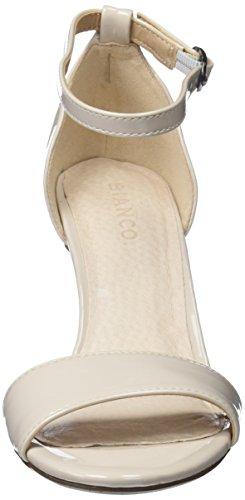 Low Cheville Sandales Bride Crème Femme Basic Bianco 8q6w4d8