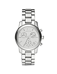 Michael Kors Women's Runway MK5428 Silver Stainless-Steel Quartz Watch