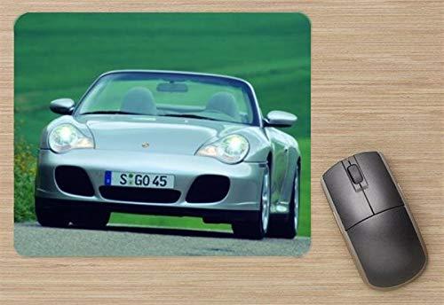 Porsche 911 Carrera 4S Cabriolet 2004 Mouse Pad, Printed - 4s Carrera Cabriolet Porsche
