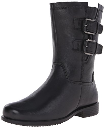 Ecco Footwear Womens Touch 25 Buckle Mid Boot - Black - 1...