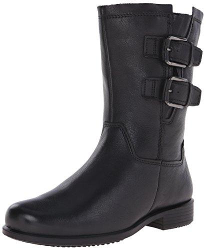ECCO Footwear Womens Touch 25 Buckle Mid Boot, Black, 36 EU/5-5.5 M US - Black Soft Calf Footwear