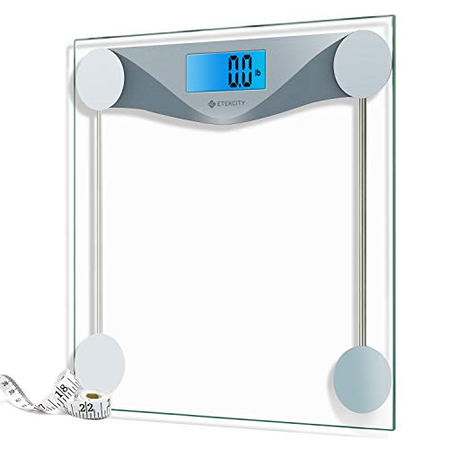Etekcity Digital Body Weight Bathroom Scale with Body Tape Measure