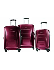 Samsonite Winfield 2 Spinner 3-Piece Luggage Set, Red