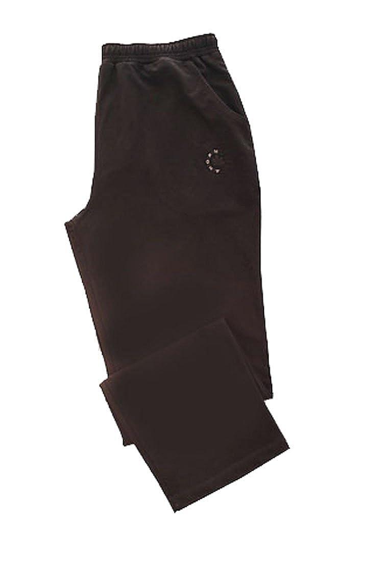 Ahorn Sportswear Jogginghose Trainingshose schwarz Übergrösse
