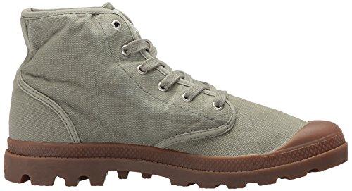 Palladium Mens Pampa Hi Ankle Boot Green-344 0p07M