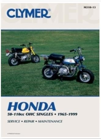 amazon com 72 96 honda z50 clymer service manual misc automotive rh amazon com honda z50 manual download honda z50 shop manual pdf
