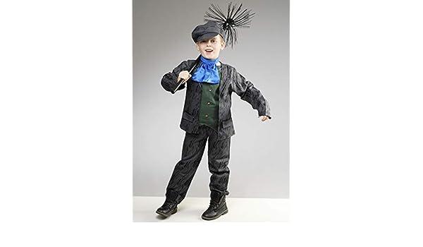Magic Box Disfraz de Mary Bertpins Estilo Bert Sweep para niños ...