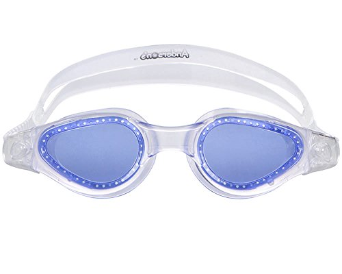Adult Swim RightGogglesRound Shape Lens Adjustable Split Strap - - Goggles Swim Shop