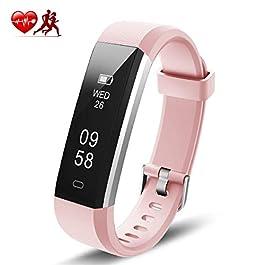 Motenik Fitness Tracker, Fitness Bracelet Watch with Heart R...