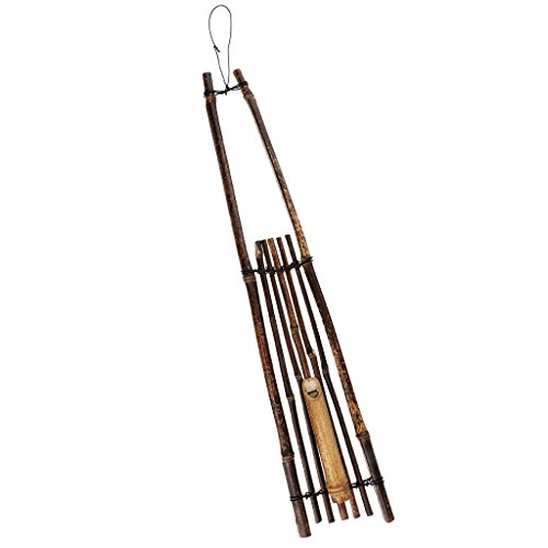 - Flameer Artificial Japanese Style Wall Hanging Bamboo Flower Vase Home Office Decoration