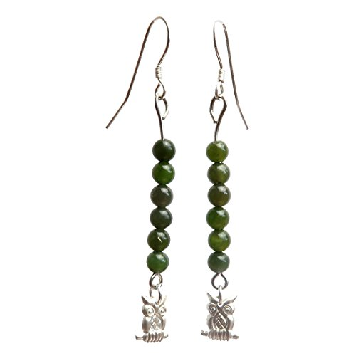 Satin Crystals Jade Green Earrings 2.4