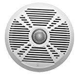 PolyPlanar MA7065 6.5'' 2-Way Marine Speaker w/2 Grills - White & Graphite
