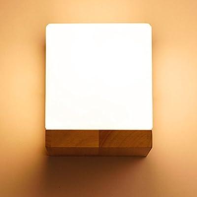 De Chevet Minimaliste Moderne En Bois Lampe Appliques QChdtsr