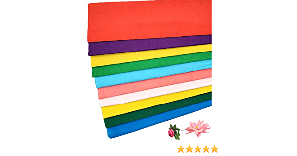 decoraci/ón crepe para fiestas de cumplea/ños y hecho a mano 20 rollos de papel crep/é de colores 100x50cm Gwolf Papel crep/é crep/é de jardinero cinta crep/é cintas de colores papel crep/é cintas crep/é