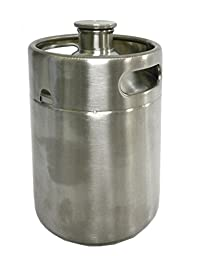 Stainless Steel Mini Beer Keg To Go Growler