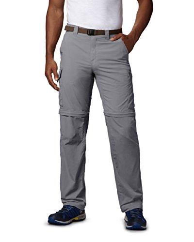 Columbia Grey Pant Ridge Men's Convertible Columbia Silver Y7xqHrwY