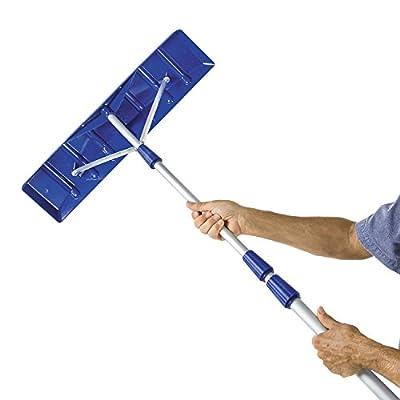 Snow Joe Model # Rj204m Roofer Joe 21 Ft. Twist-n-lock Telescoping Shovel Roof Rake