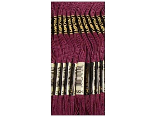 DMC Six Strand Embroidery Cotton 8.7 Yards-Dark Grape