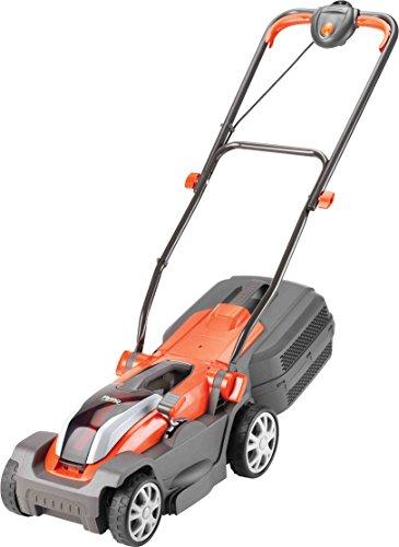 Flymo Mighti-Mo 300 Li Cordless Battery Lawn Mower, 40 V, Cutting Width 30...