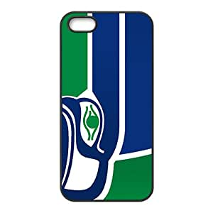 Seattle Seahawks Black Phone Case for iPhone 5S