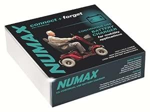 Cargador de Batería de Scooter de movilidad NUMAX - 24V/4AH - 4AMP - Conecte y Olvidese.