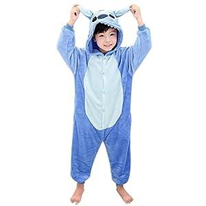 Duraplast Girl's Sleep Bag Onesie Pajamas Animal Costume Hoodie Fleece