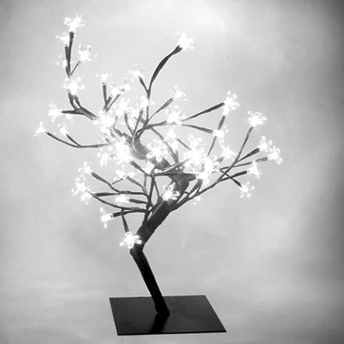 White LED Bonsai Tree | Bonsai Tree Lamp, Table Lamp, White Mood ...