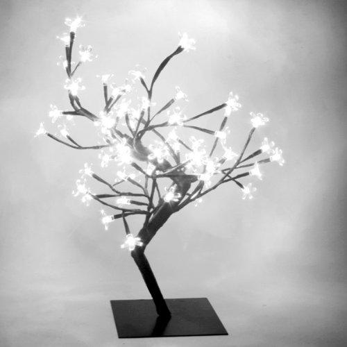 White LED Bonsai Tree | Bonsai Tree Lamp, Table Lamp, White Mood Lighting